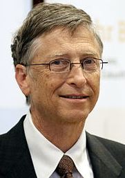 Bill Gates 2013 in Berlin, Foto Wikipedia